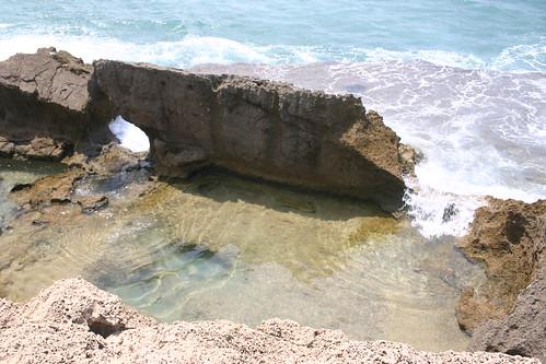 Ruins and waves