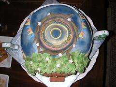 Hobbit Hole Birthday Cake