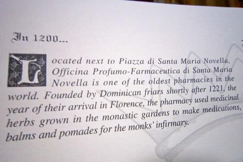 Oldest Pharmacy in Italy