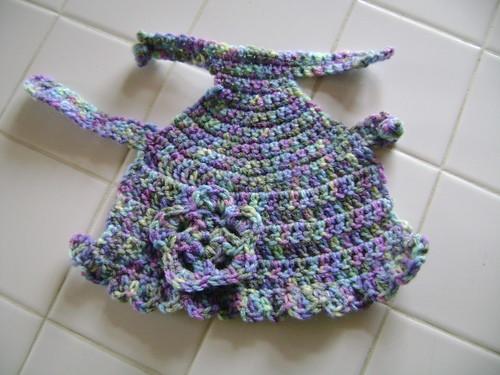 Finished dog sweater/dress