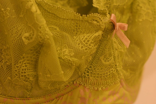 Saturday: Chartreuse Lingerie