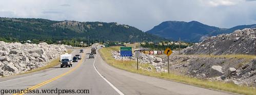 Frank Slide Highway