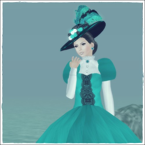 Hatpins - Lady Effie Hat and Dress - HDH