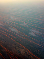 up in the air. simpson desert 10