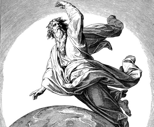 http://commons.wikimedia.org/wiki/File:Schnorr_von_Carolsfeld_Bibel_in_Bildern_1860_002.png