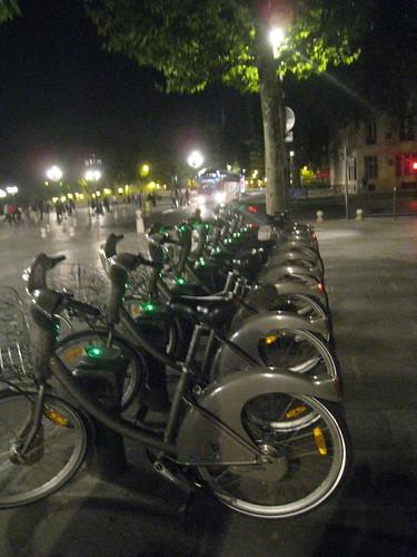 Velib bikes!