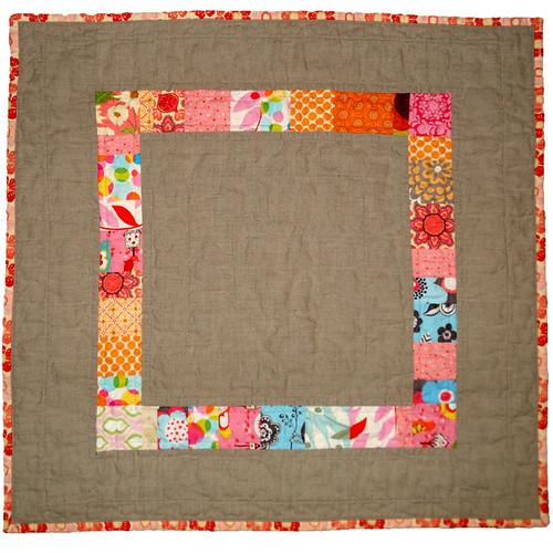 Linen and Scraps Quilt