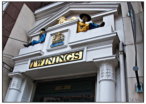 Doorway at Twinings