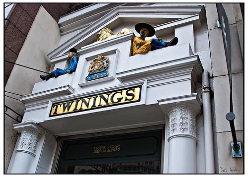 Doorway at Twinings