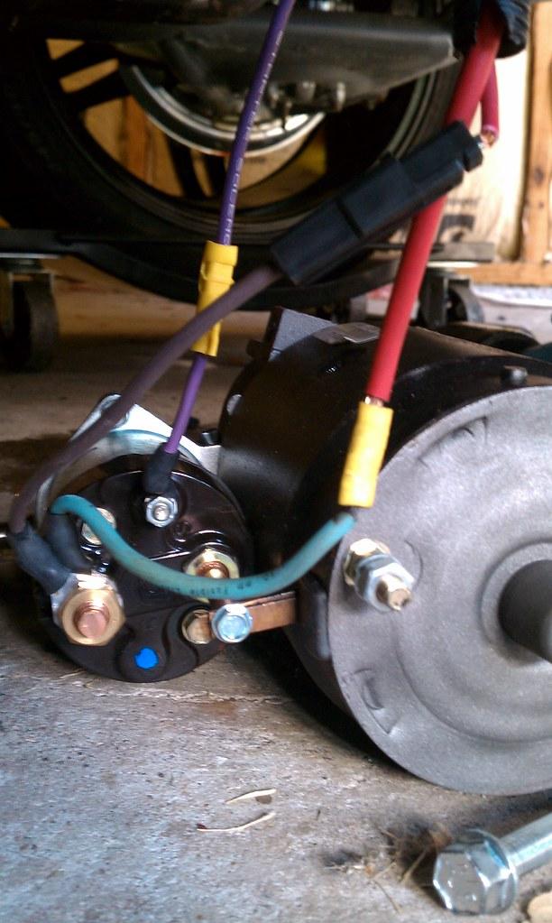 72 Chevy Starter Wiring