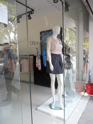 Window shopping in suzhou