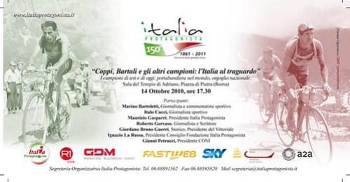 Coppi Bartali e gli altri, un convegno sui campioni d'Italia