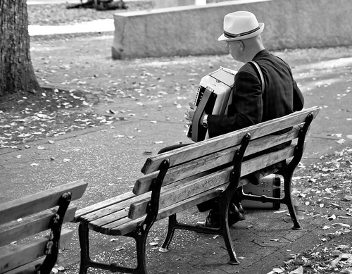 Past Playing the Past B&W