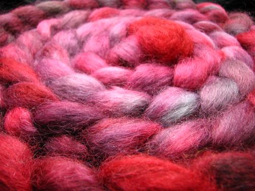 Drama Queen - Wensleydale Wool Top
