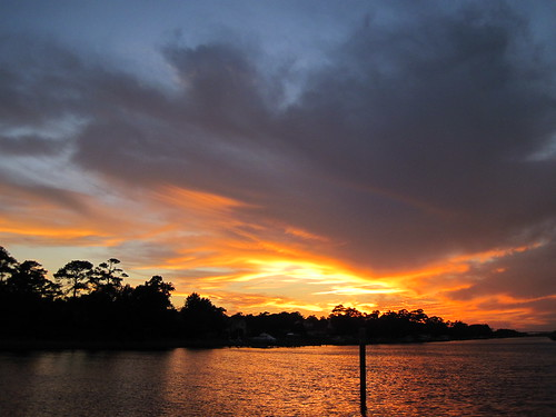 Sunset near Southport