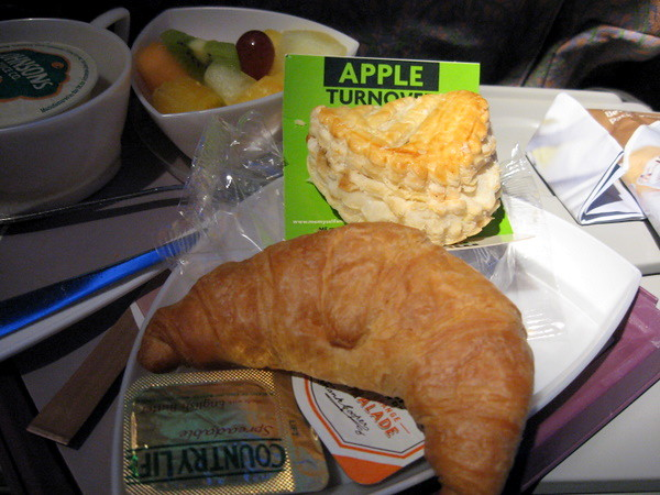 Plane food: Emirates