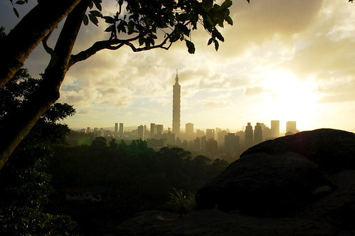 Taipei 101 from Longshandong