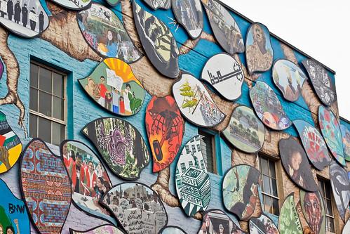 Olympia Rafah Mural