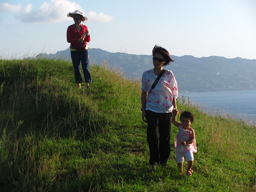 Three generations of wanderers, Rolling Hills, Batan Island, Batanes