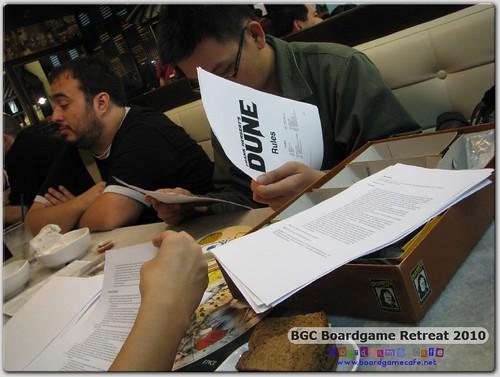 BGC Retreat - DUNE