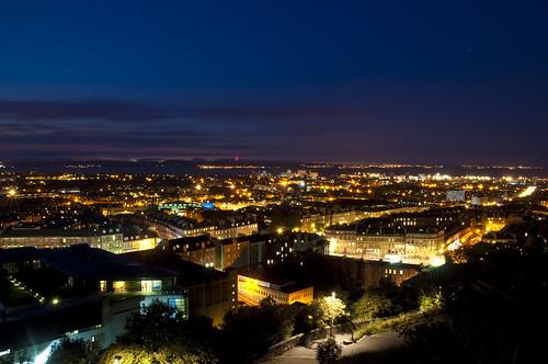 North Edinburgh at Night