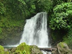Badestelle unterm Wasserfall, Fortuna