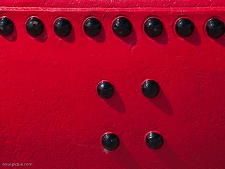 Rivets on Buoy