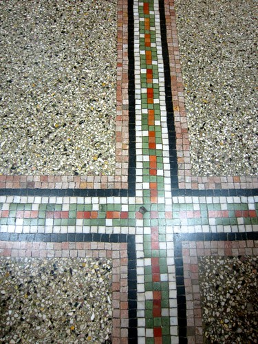 Dunmore Candy Kitchen Mosaic Floor