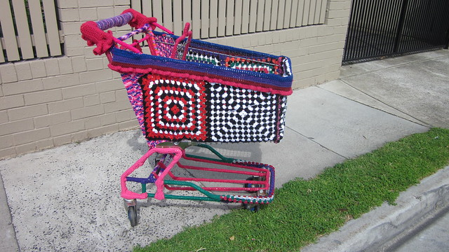Yarn Bombing - Trolley