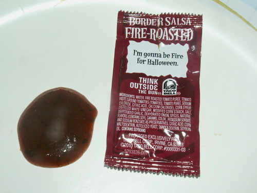 Taco Bell Fire-Roasted Border Salsa