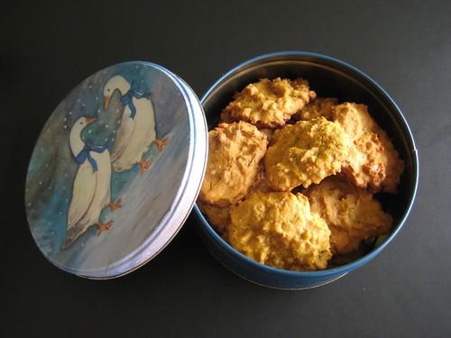 Pumpkin & Fresh Ginger Cookies, October 2010