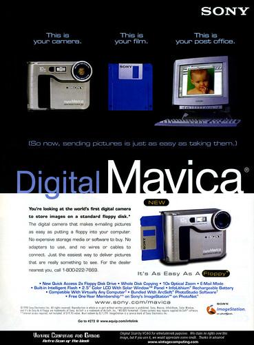 Mavica FD-7 Advertisement