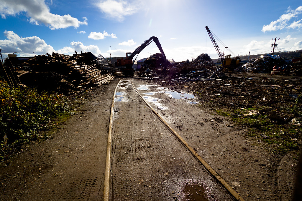 Georgetown recycling scrapyard