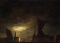 Cuyp, Albert  - Sea at moonlight  - 1648