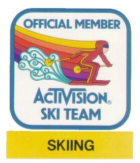 Activision Ski Team badge