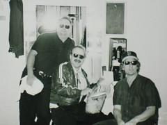 Jon Hammond's Dressing Room in The Fillmore June 4th 1999