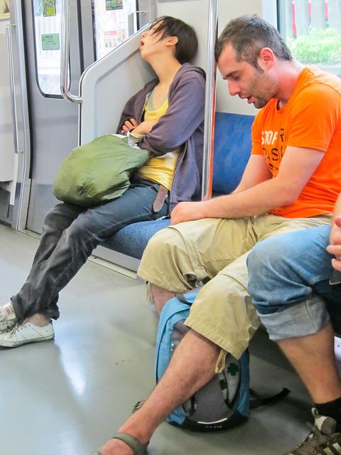 Sleeping Japanese-style
