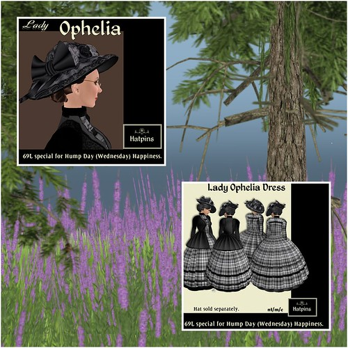 Hatpins - Lady Ophelia - HDH