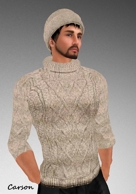 sf design cable knit jumper