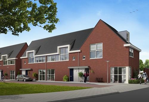 11 woningen Tuindorpstraat / Anemoonstraa