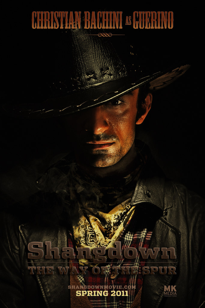 SHANGDOWN: THE WAY OF THE SPUR - Character Poster Guerino (Alternative)