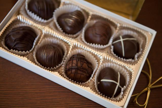 The Chocolate Fetish truffles
