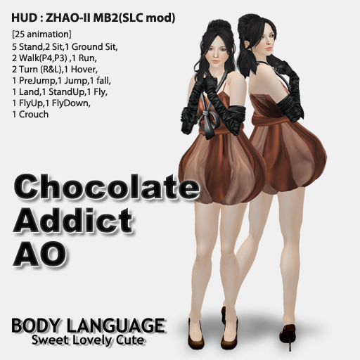 Chocolate Addict AO set