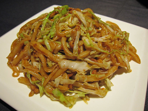 Noodles with Pork and Cabbage