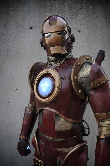 Steampunk Iron Man : steampunk, Steampunk