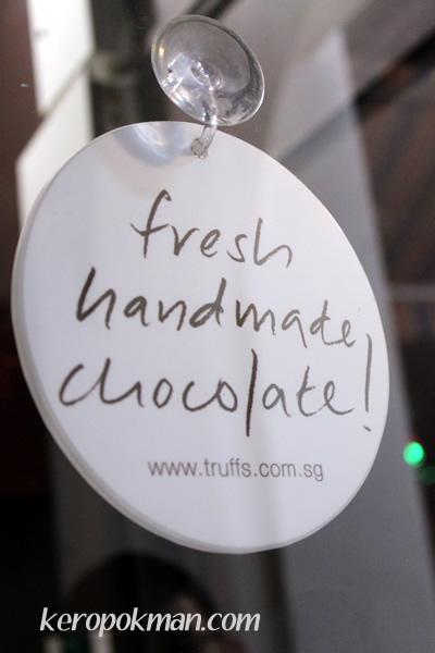 Fresh handmade chocolate!