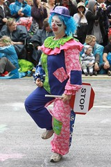 Stop for the Clown!