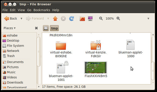 tmp Folder