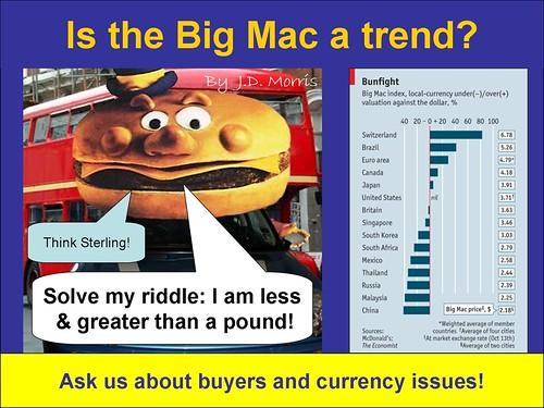 Big Mac a trend?