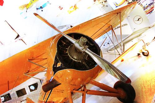 365-204 Orange Airplane